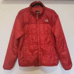 North Face Red Puffer Liner Jacket